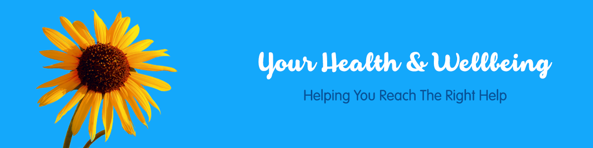 Your health and wellbeing banner
