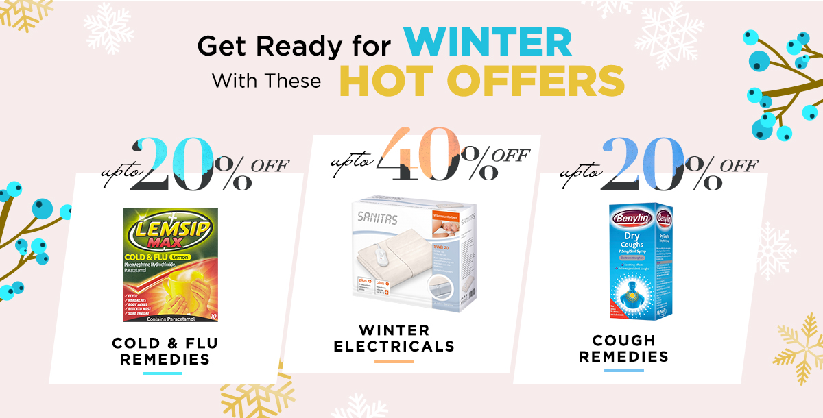 Prepare for Winter with these HOT Offers!
