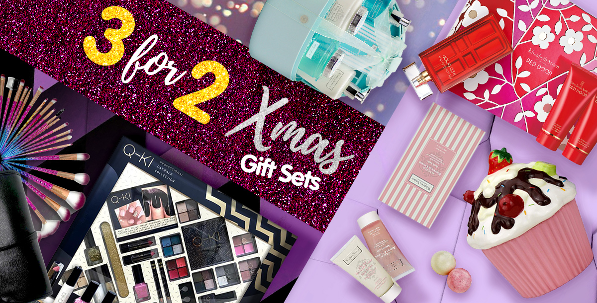 3 for 2 on Selected Xmas Gifts!