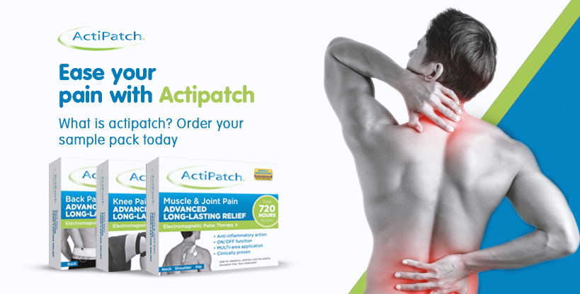 Ease your pain with Actipatch!