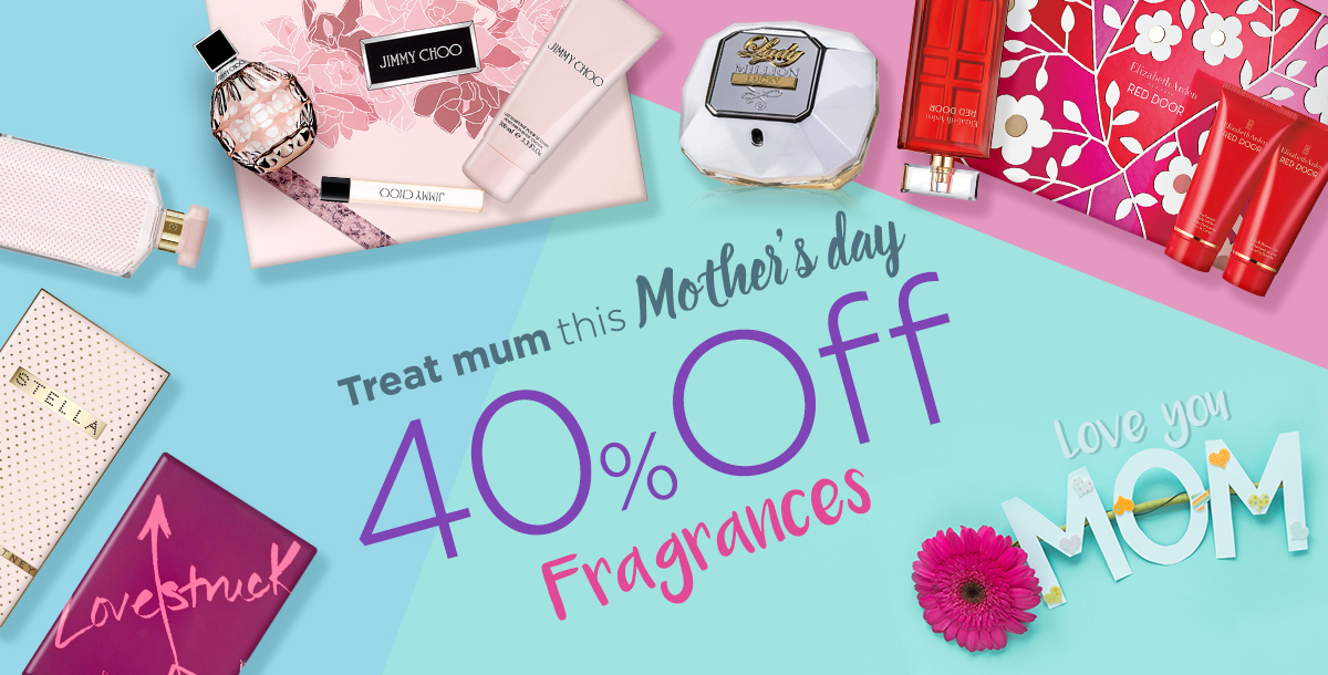 Up to 40% Off Fragrances