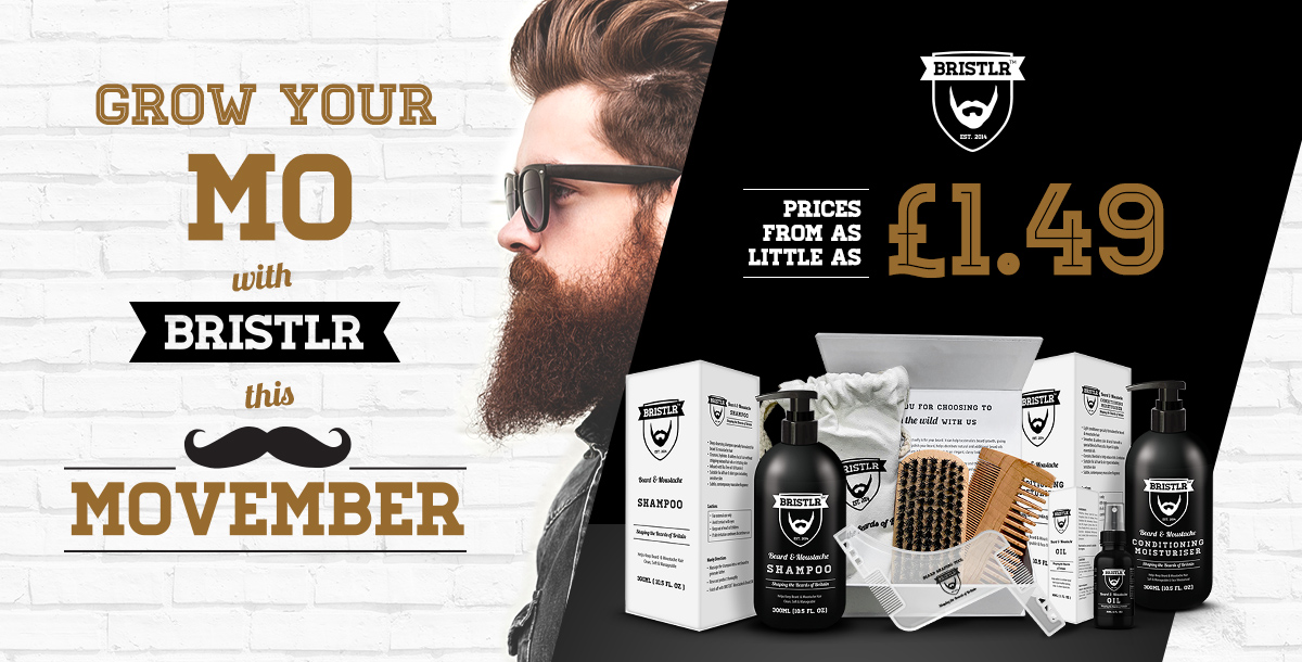 Grow Your Mo' this Movember!