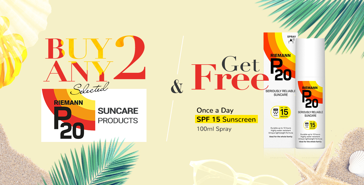 Buy Any 2 Selected Riemann and get a free item