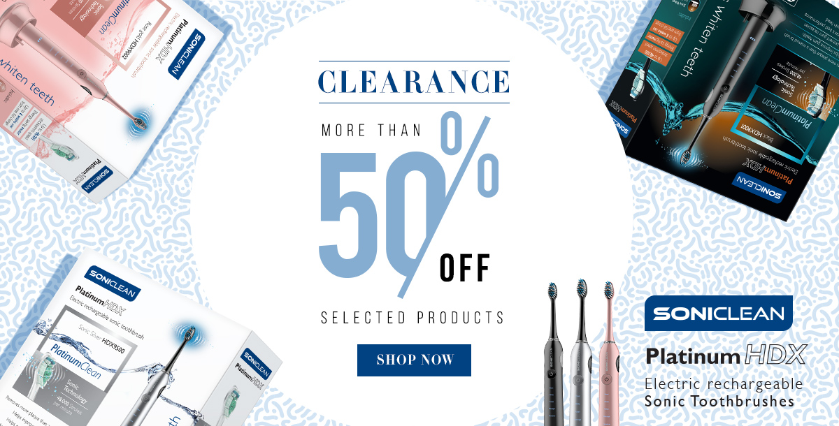 More Than 50% Off Selected Products