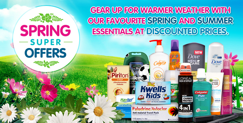 Spring,Offers,Summer,Hayfever,Allergy,Sun,Great,Prices