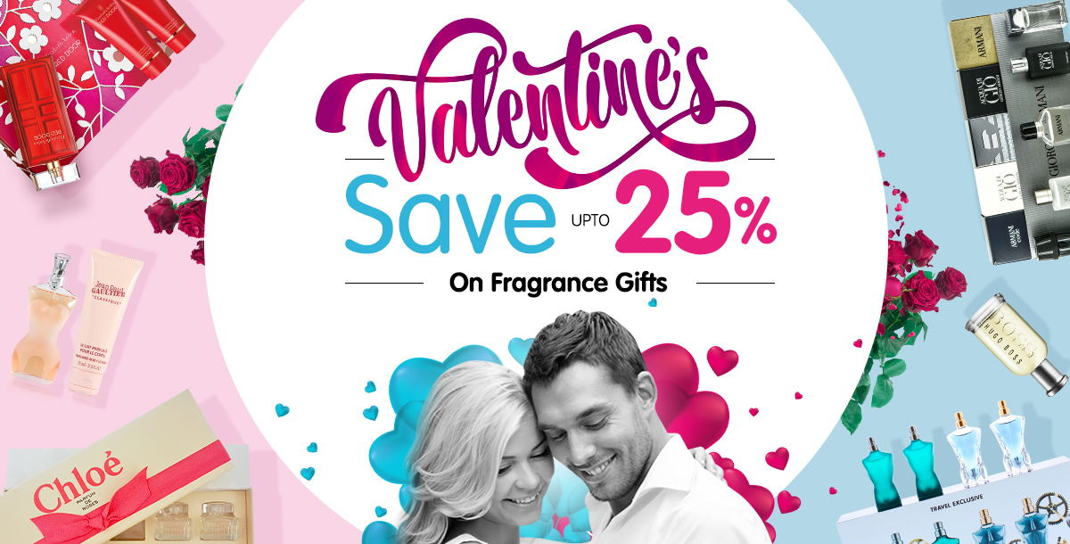 Save up to 25% On Valentines Gift Sets