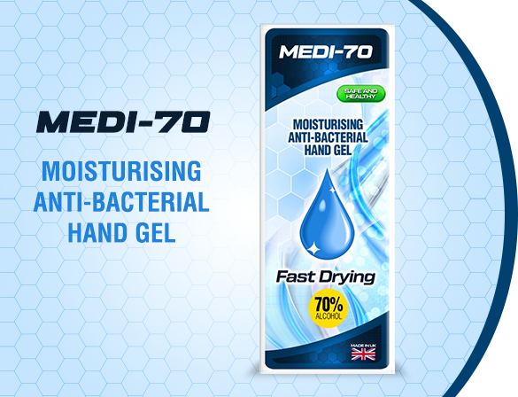 When should I use antibacterial hand gel?
