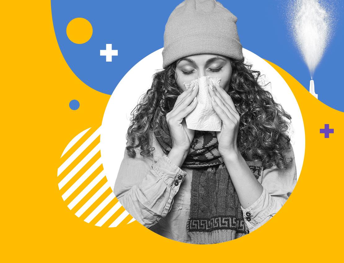 How do hay fever relief nasal sprays work?