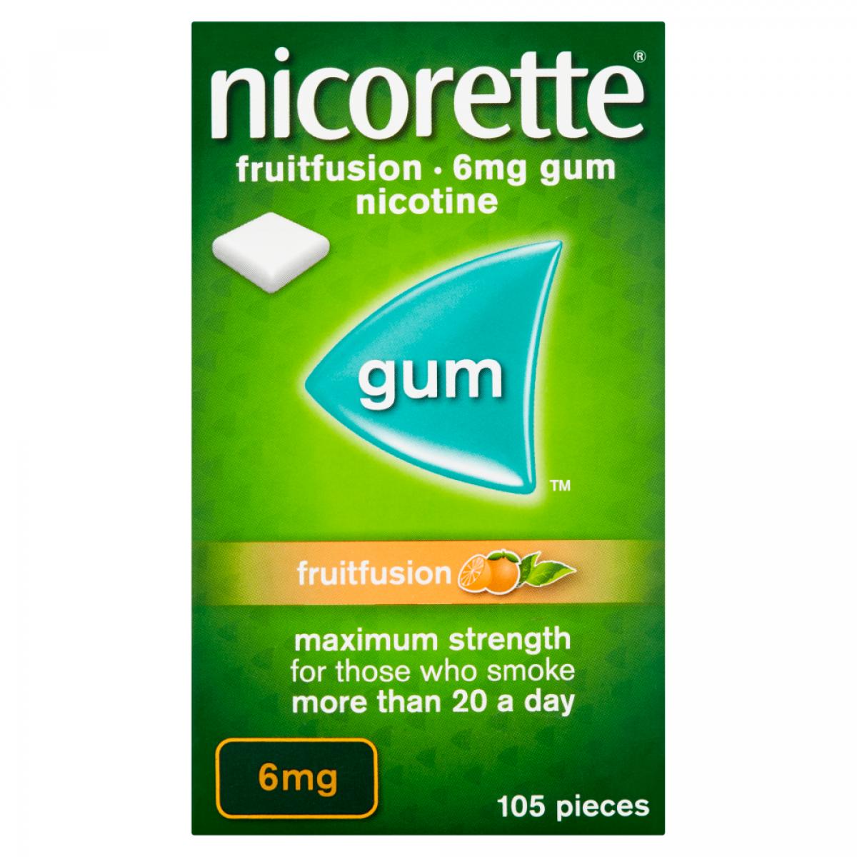 Nicorette Gum 6mg