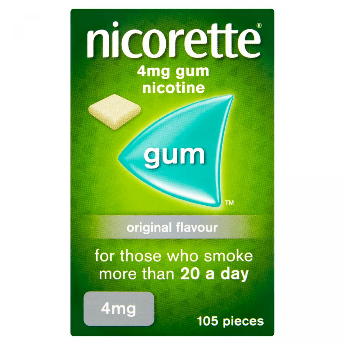 Nicorette Gum 4mg