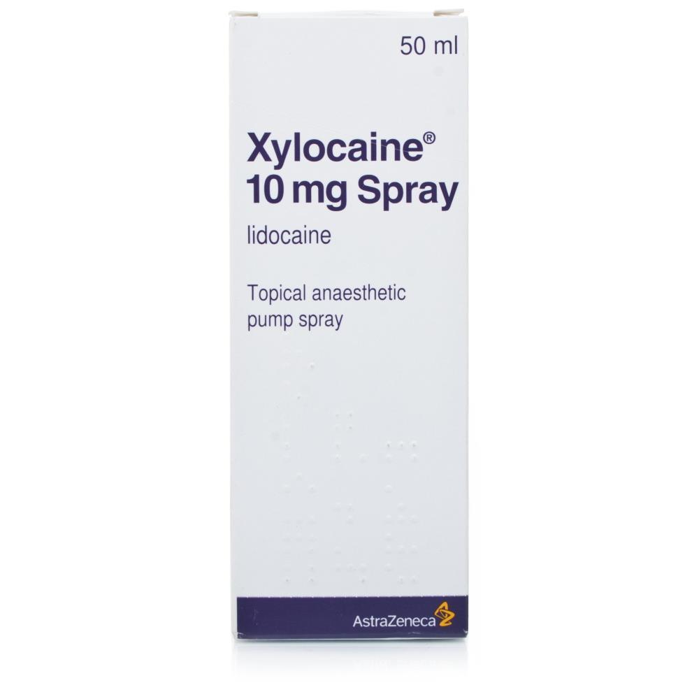Buy Xylocaine 10mg Anaesthetic Spray 50ml Chemist 4 U