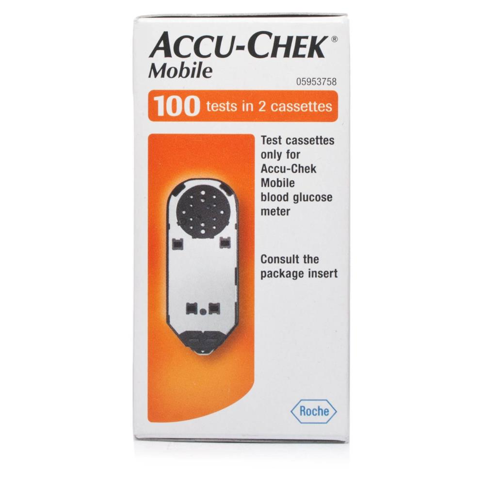 AccuChek Mobile 100 Test Cassette