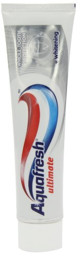 Aquafresh Ultimate Toothpaste Plus Whitening 100ml