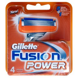 Gillette Fusion Power Razor Blades Replacement 4 Pack