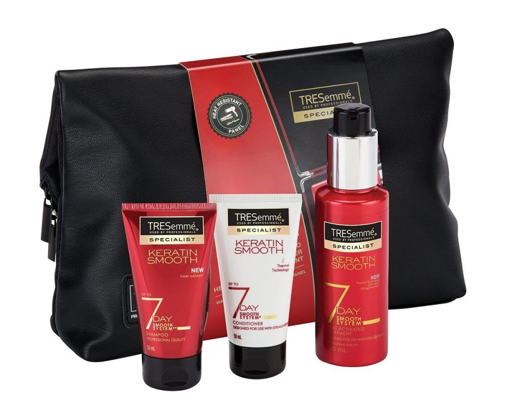 TRESemme 7 Day Smooth Wash Bag Gift Set