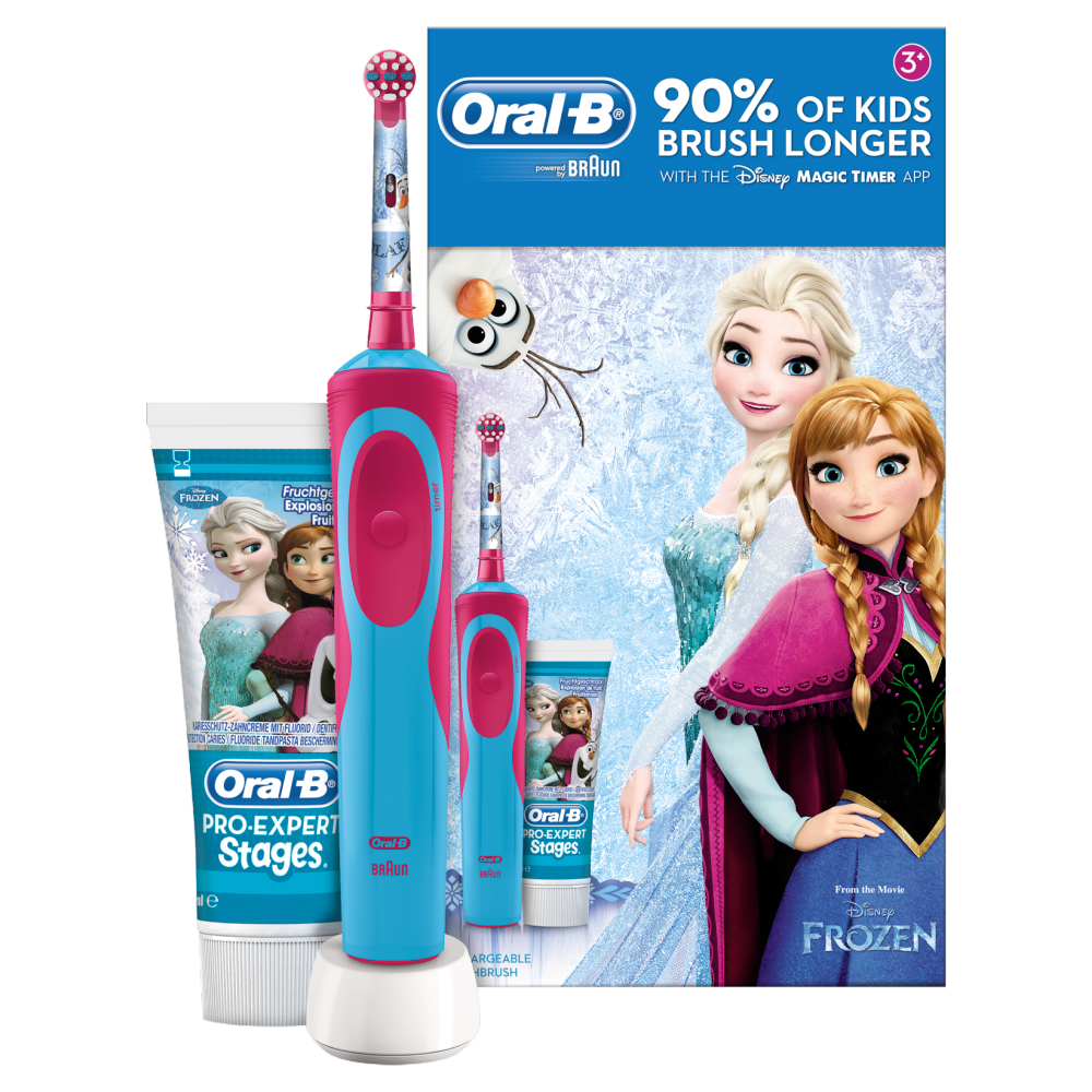 Oral B Kids Electric Toothbrush Frozen Gift Pack