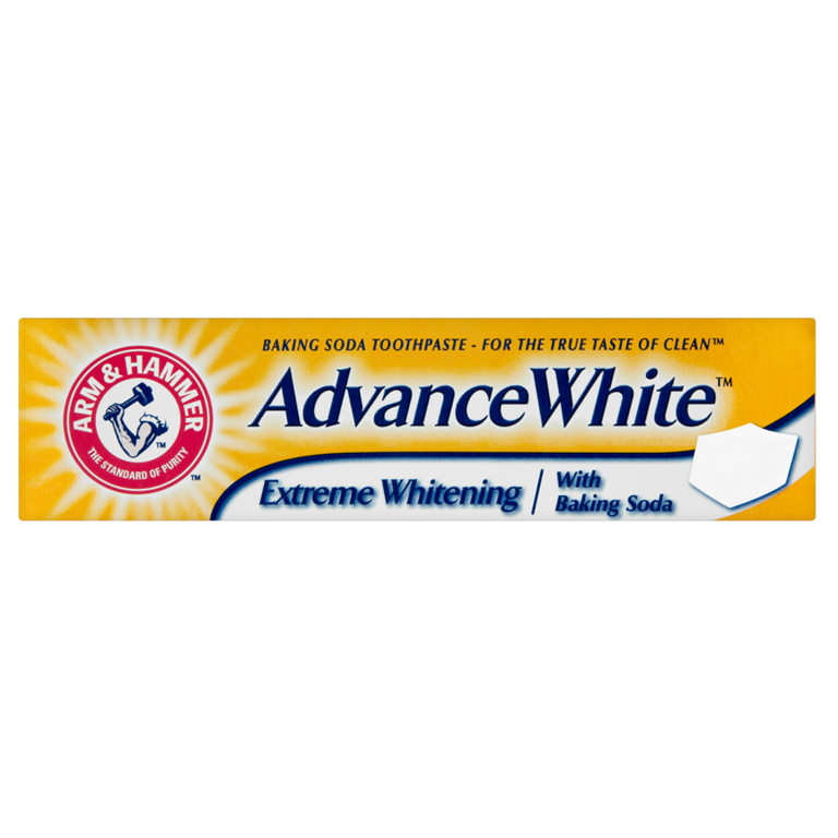 Arm & Hammer Extreme Whitening with Baking Soda Toothpaste 75ml
