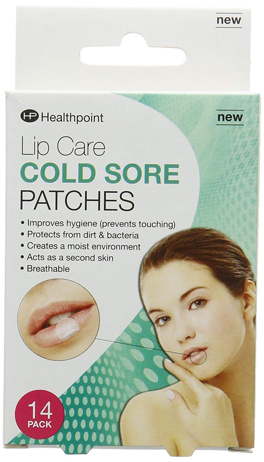 Healthpoint Lip Care Cold Sore Patches - 14 Pack