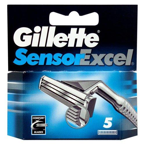 Gillette 5 Sensor Excel Mens Razor Blades