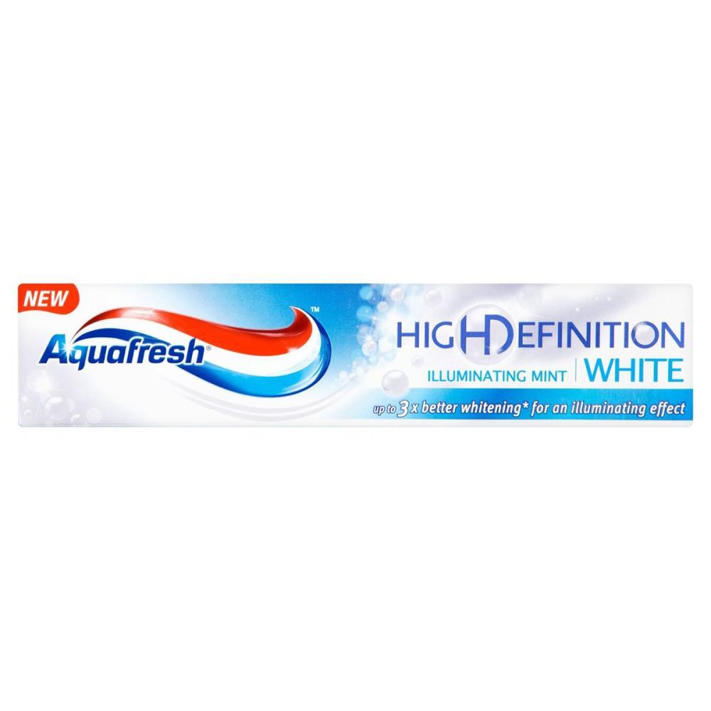 Aquafresh High Definition White Mint Toothpaste 75ml