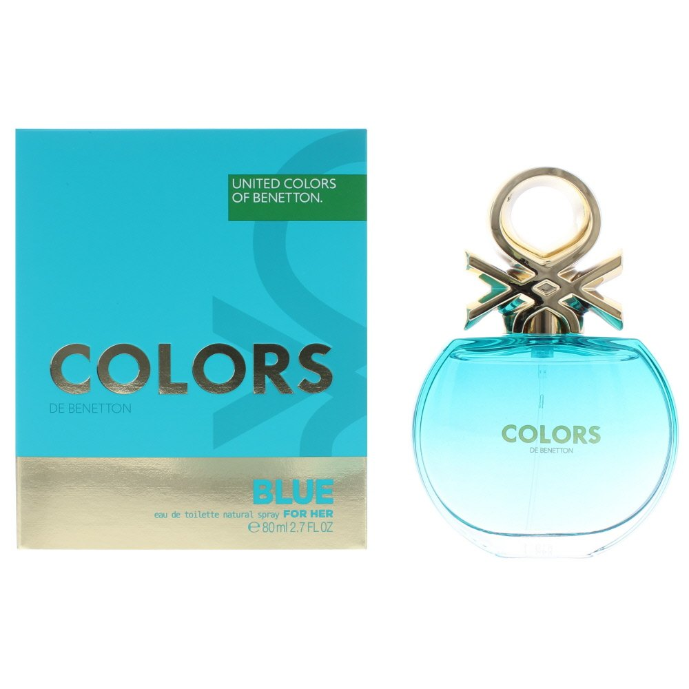 Benetton Colours Blue F EDT - 80ml Spray