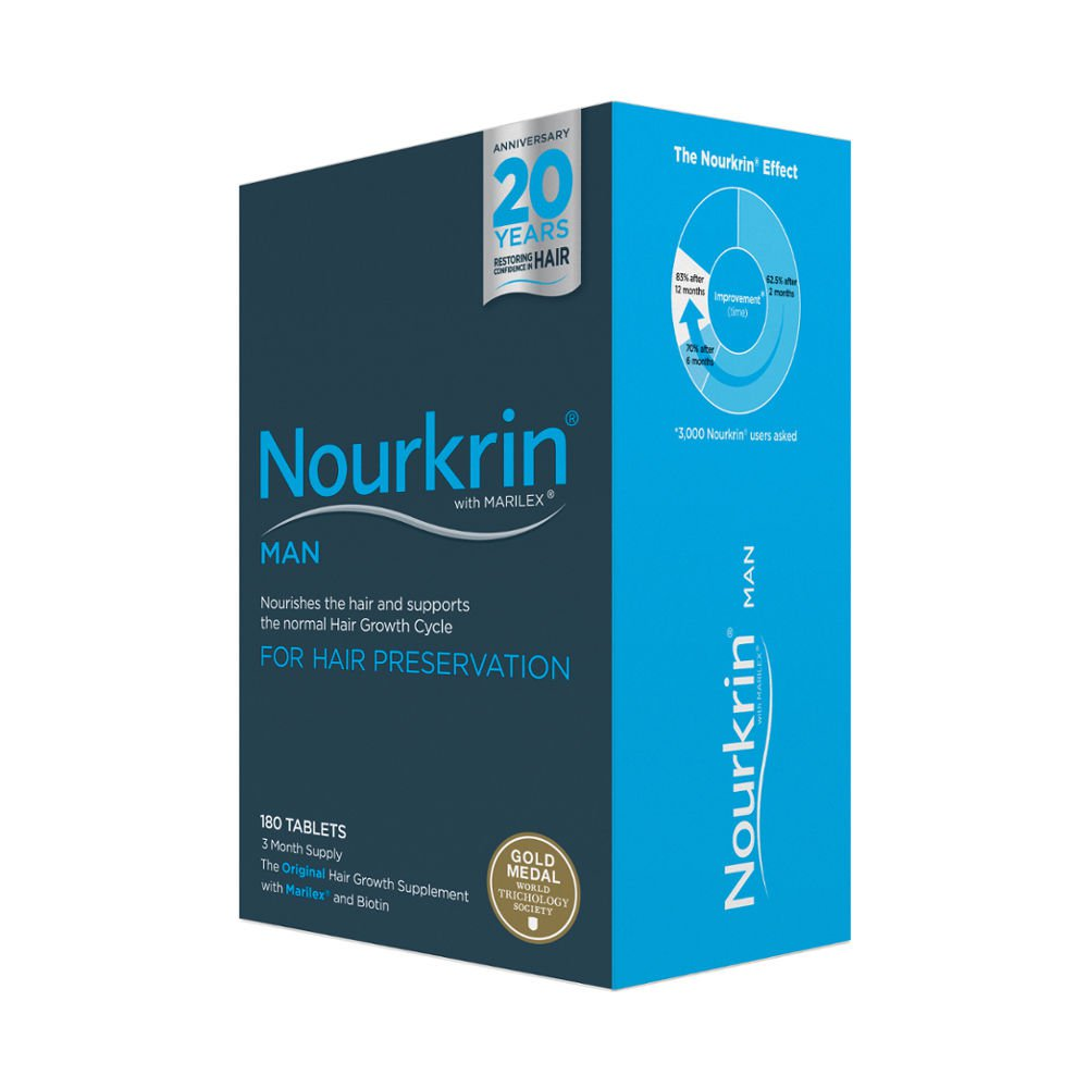 Nourkrin Man For Hair Growth 180 Tablets
