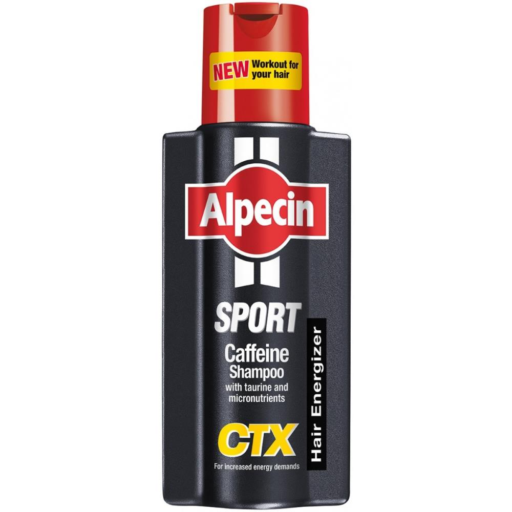 Alpecin Sport Caffeine Shampoo CTX for Men 250ml