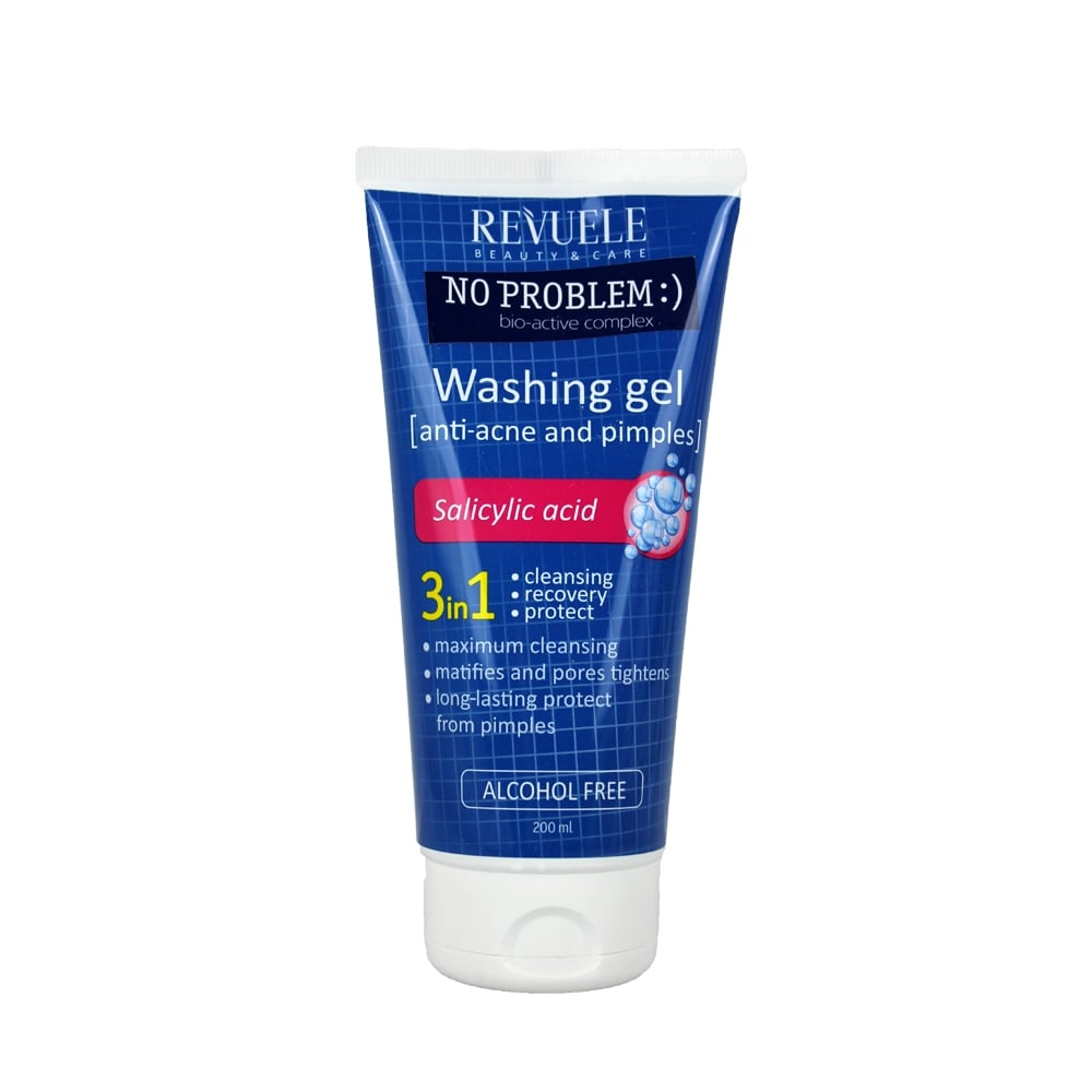 Revuele No Problem Washing Gel AntiAcne & Pimples with Salicylic...