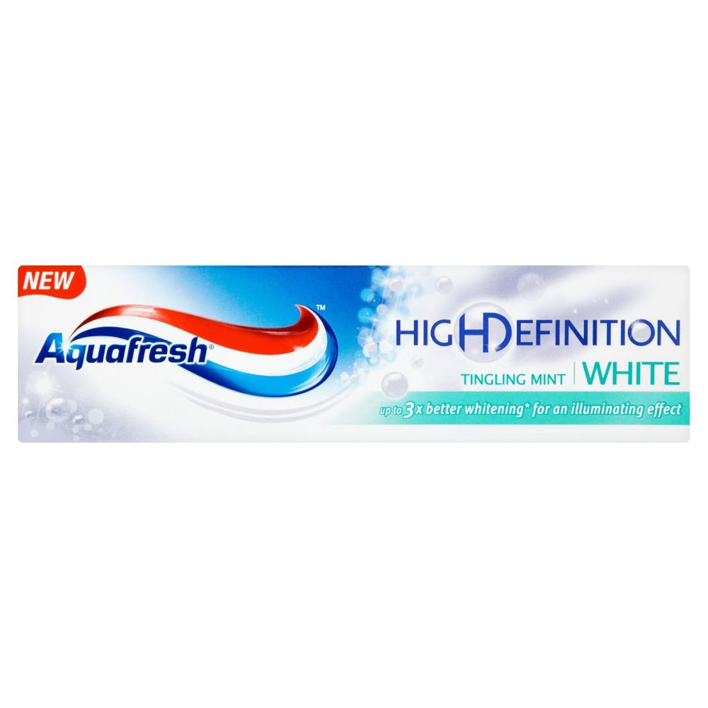 Aquafresh High Definition White Tingling Toothpaste 75ml