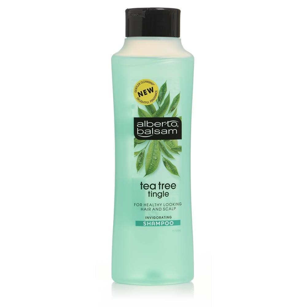Alberto Balsam Tea Tree Tingle Herbal Shampoo 350ml