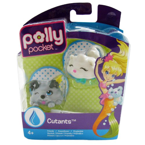 Polly Pocket Cutants Friends Lightning dog And Cloudcat Toy Accessory