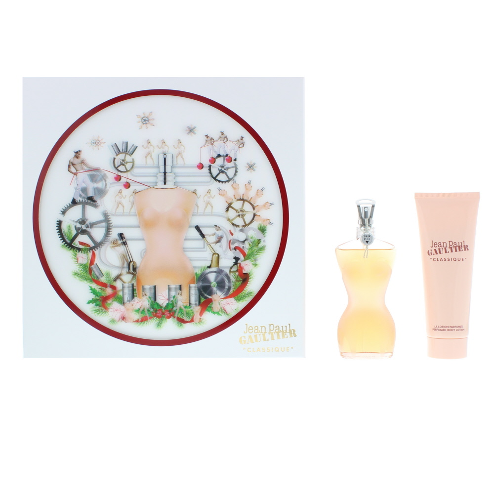 Jean Paul Gaultier Classique EDT 50ml And Body Lotion 75ml