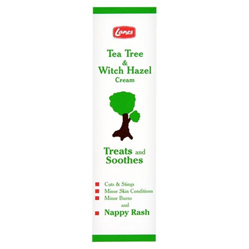 Lanes Health Teangi Tea Tree & Witch Hazel Cream 28g