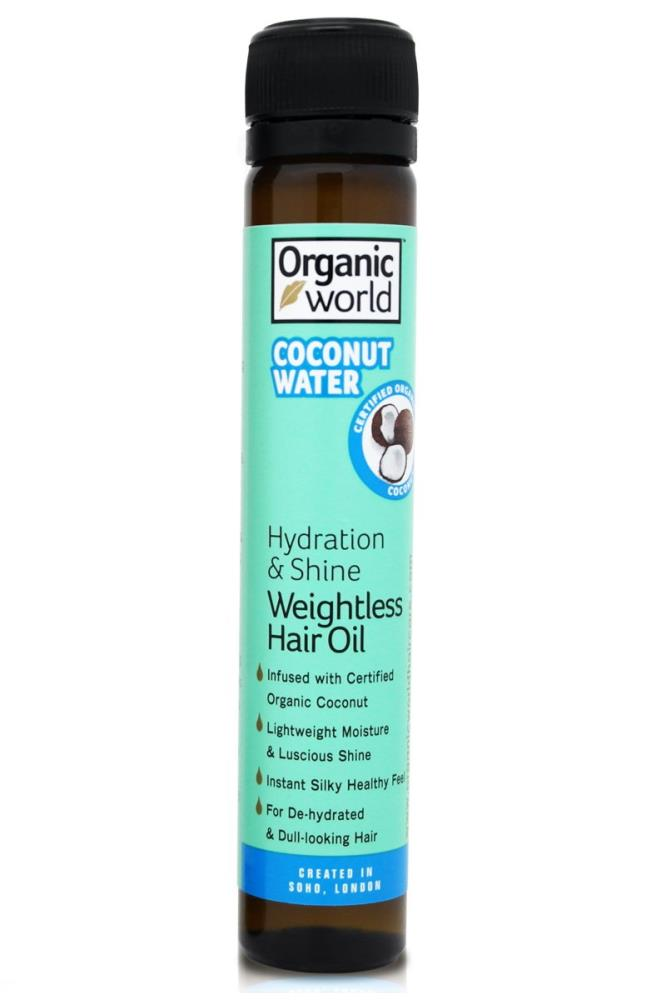 Medicine & Pharmacology Natural World Coconut Water Hydration and Shine Weightless Hair Oil 25ml