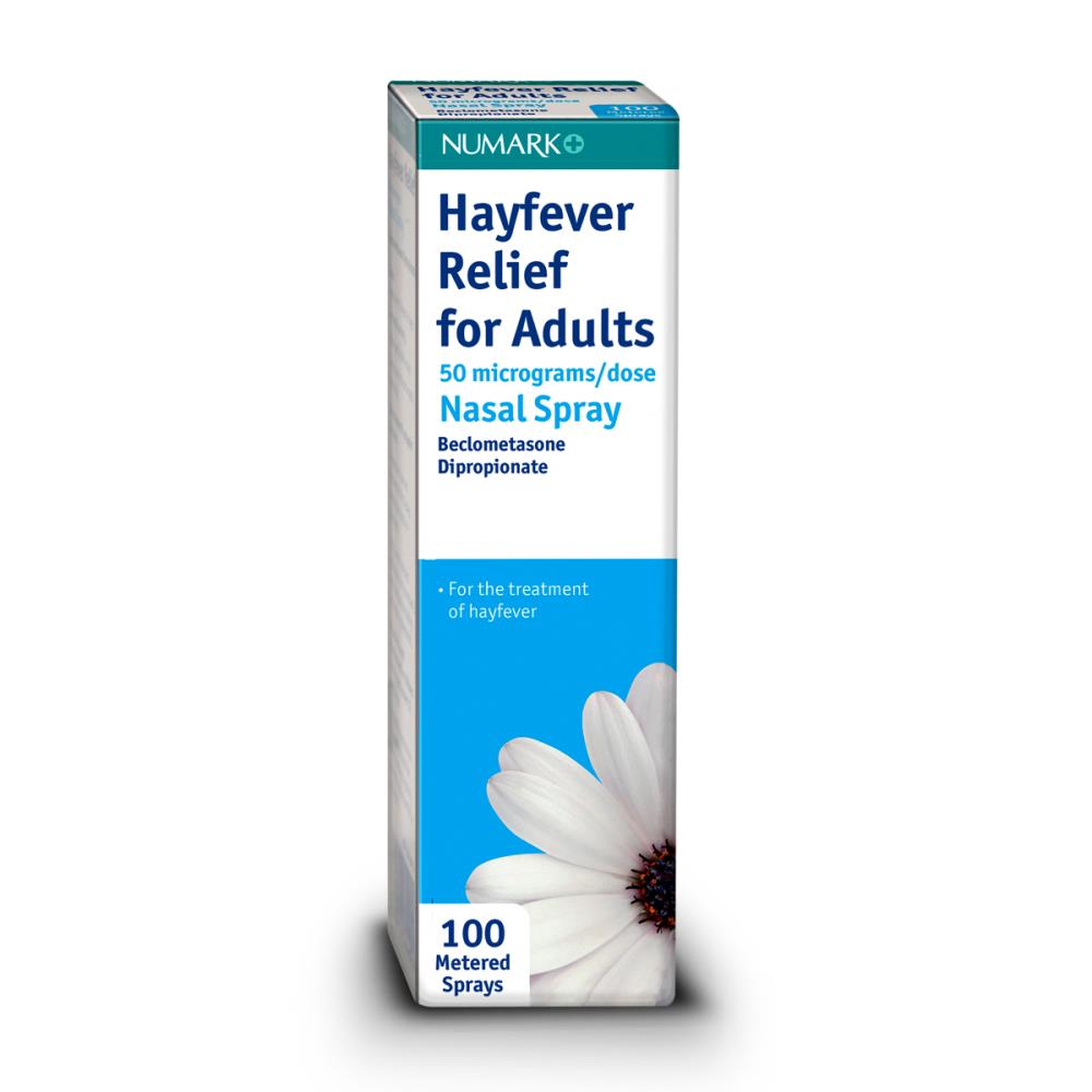 Numark Hayfever Relief Nasal Spray 100 Sprays Chemist 4 U
