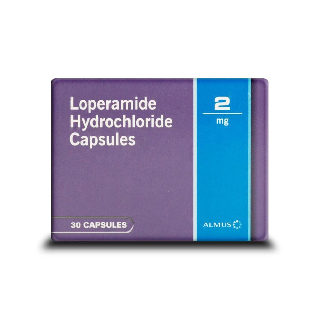 Loperamide Hydrochloride 2mg Diarrhoea Treatment 30