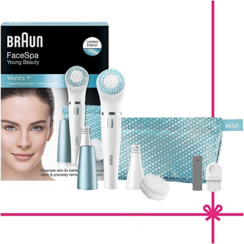 Braun Face 832E Facial Epilator and Cleansing Brush