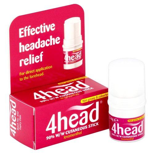Chemist 4 U 4Head Effective Headache Relief Stick 3.6g
