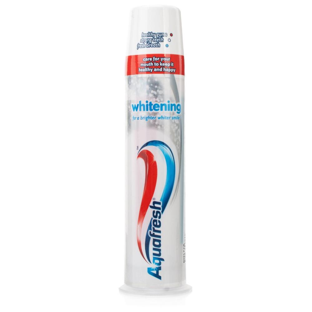 Aquafresh Whitening Toothpaste Pump 100ml