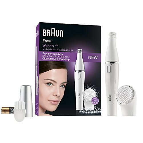 Braun Face 810 Facial Epilator and Facial Cleansing Brush