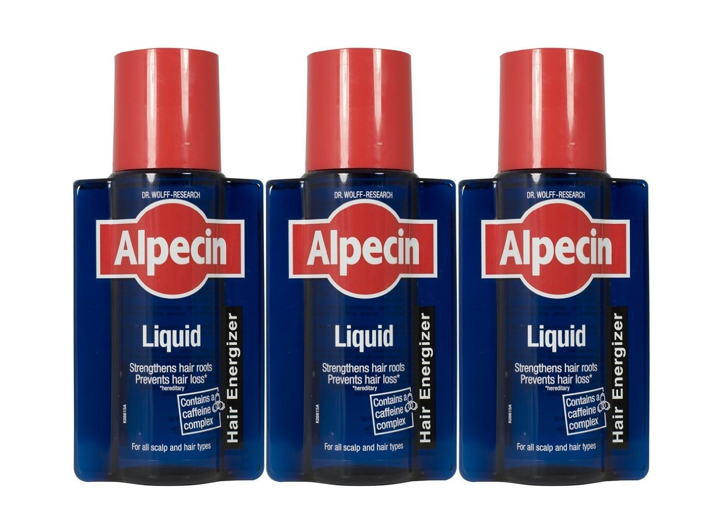 Alpecin Caffeine After Shampoo Liquid Hair Energizer 200ml  Pack of 3