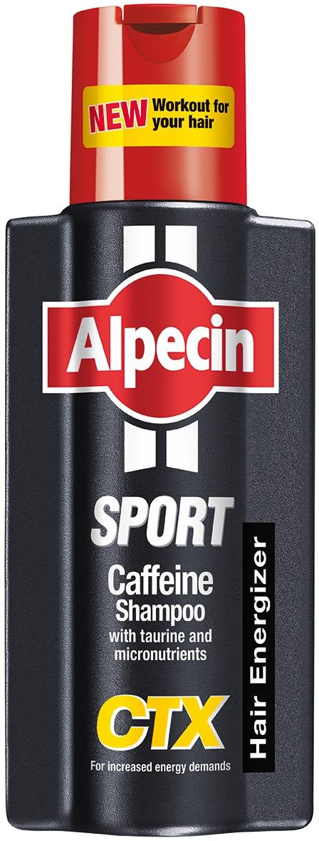 Alpecin Sport Caffeine Shampoo CTX Hair Energizer 250ml