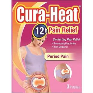 Cura-Heat Period Pain - 3 Heat Packs