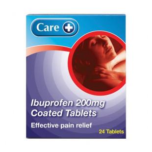 Ibuprofen 200mg 24 Tablets (Brand May Vary)