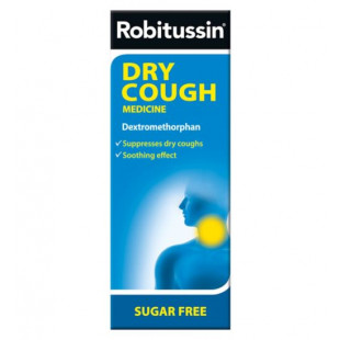 Robitussin Dry Cough Medicine – 100ml