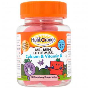 Haliborange Mr Men & Little Miss Calcium & Vitamin D - 30 Softies