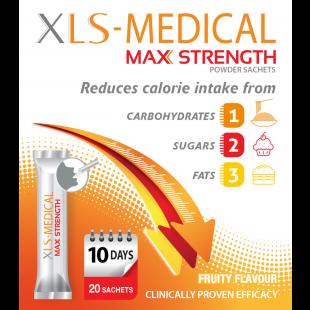 XLS Medical Maximum Strength Weight Loss Sachets - 20 Sachets