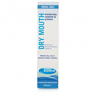 Bioxtra Dry Mouth Gel Relief for Sore Sensitive Mouths 40ml