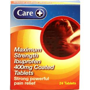 Ibuprofen - 24 x 400mg Tablets (Brand May Vary)