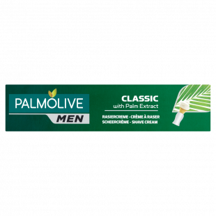 Palmolive For Men Classic Shave Cream With Palm Extract - 100ml
